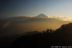 富士山(2010年1月26日PM5:00)