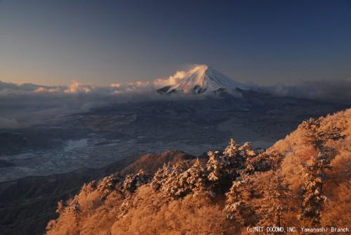 富士山2010年2月2日(7:00)