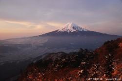 三ツ峠(2010年2月23日6:40)
