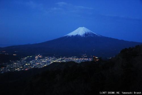富士山(2010年4月14日5:00)