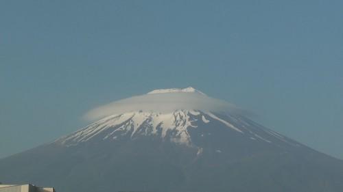 富士吉田の富士山(2010年6月2日5:30)