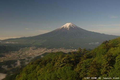 富士山(2010年6月15日7:00)