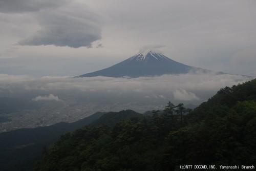 富士山(2010年6月21日8:30)