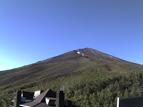 富士山・五合目(2010年8月5日7:00)