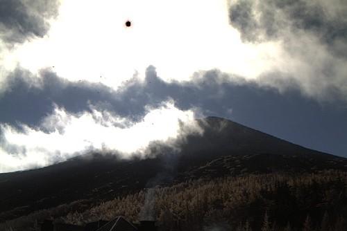 富士山五合目カメラ(2010年10月27日)