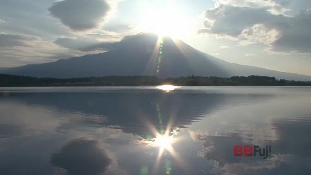 Diamond Fuji of the Lake Tanuki