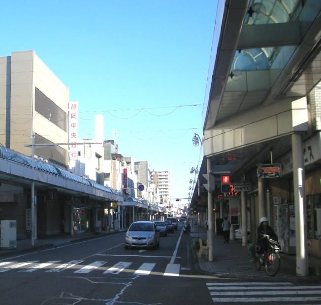 富士市吉原商店街